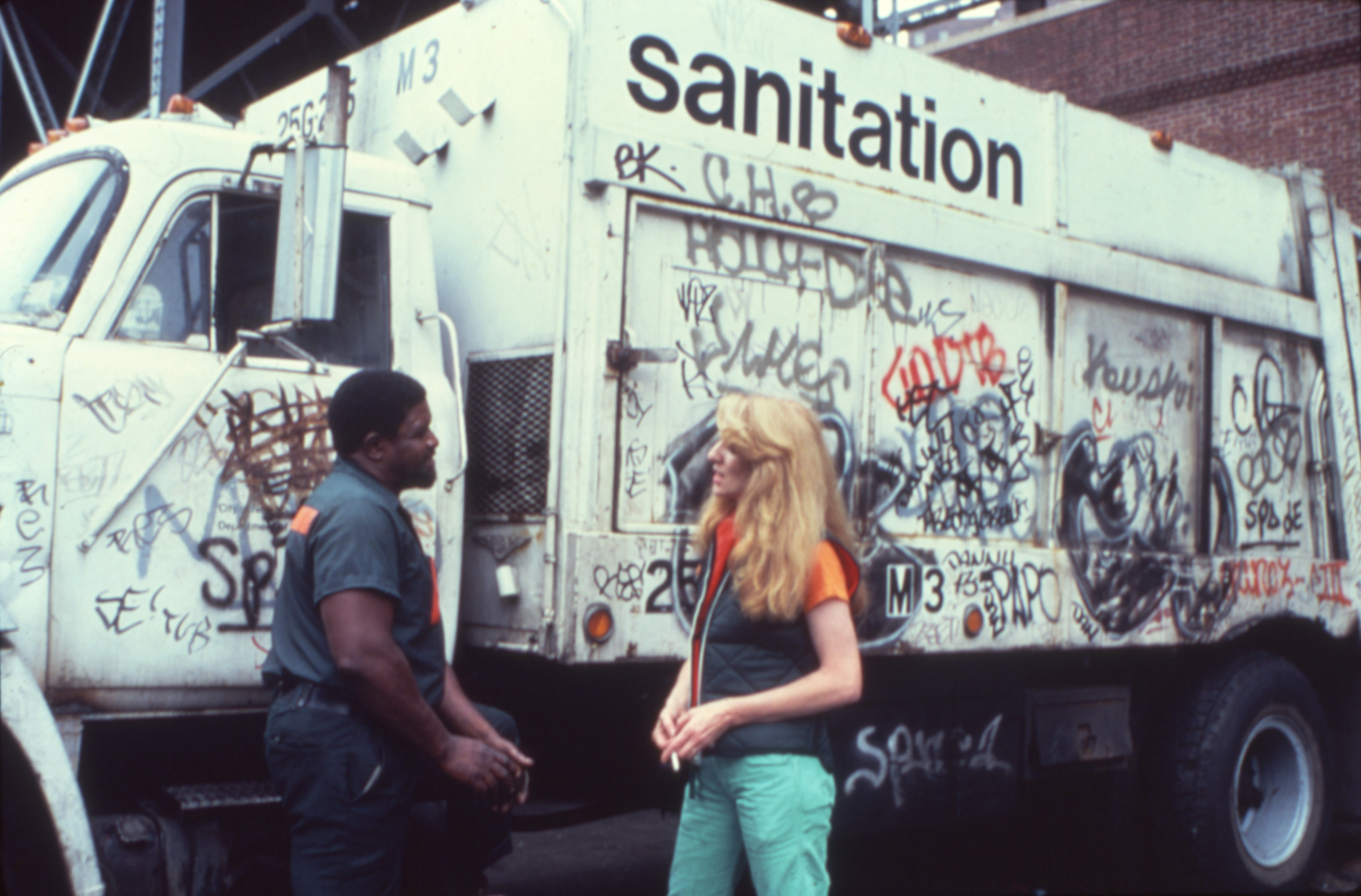 Touch Sanitation, Ukeles
